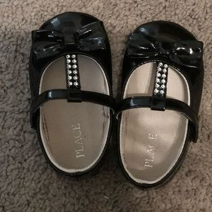 Other - Black baby girl shoes